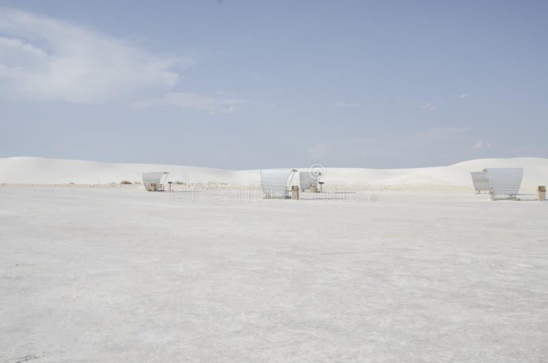 空白沙丘国家公园 库存照片