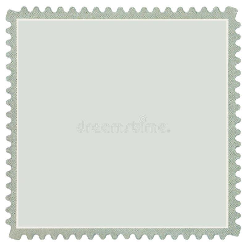 空白灰色查出的宏观邮费正方形印花&# 库存照片