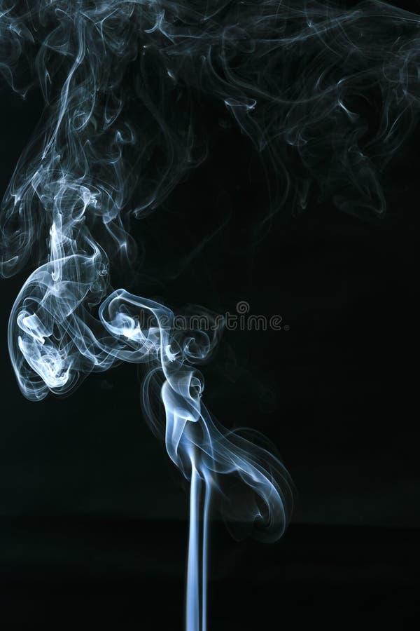 空白烟 库存照片