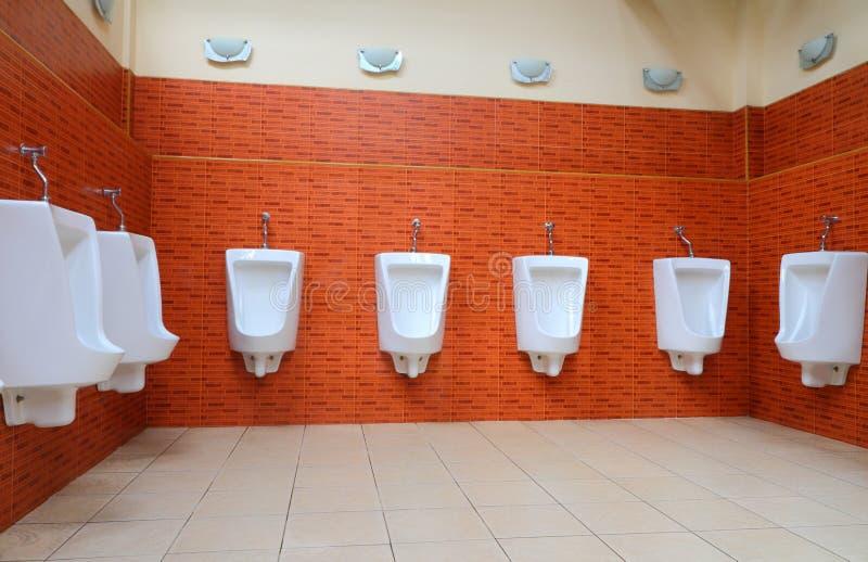 空白瓷的尿壶 免版税库存照片