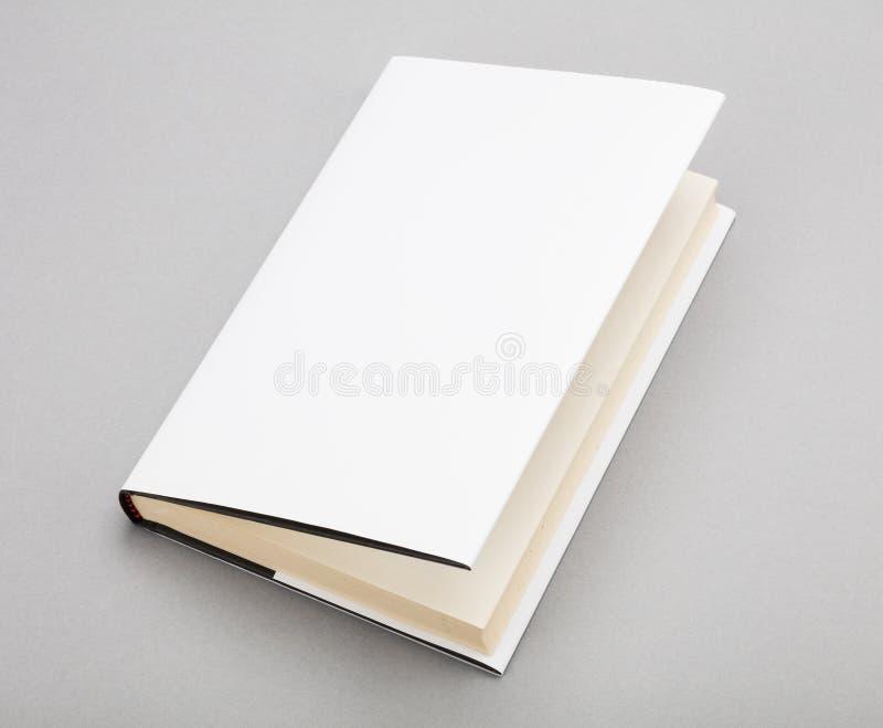 空白的书白色盖子5,5 x 8寸 库存照片