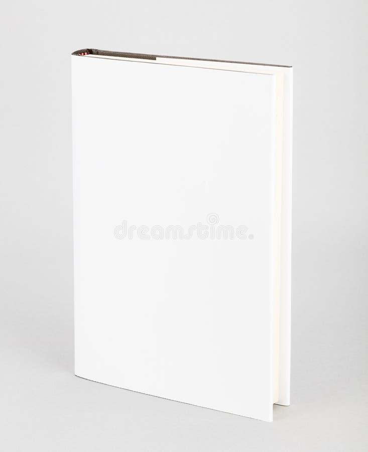 空白的书白色盖子5,5 x 8寸 免版税库存图片