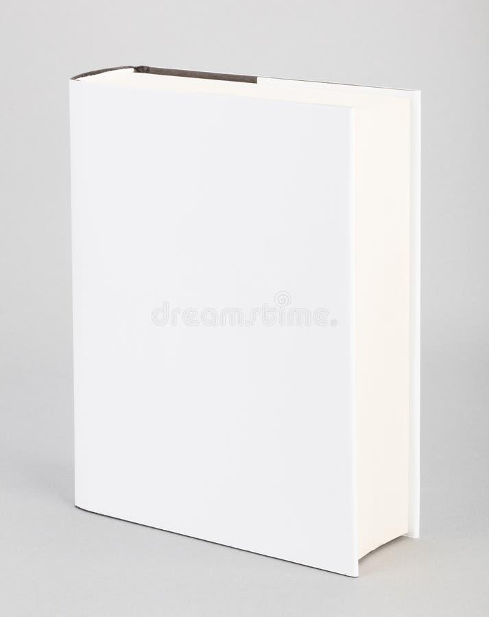 空白的书白色盖子6 x 8,5寸 免版税库存照片