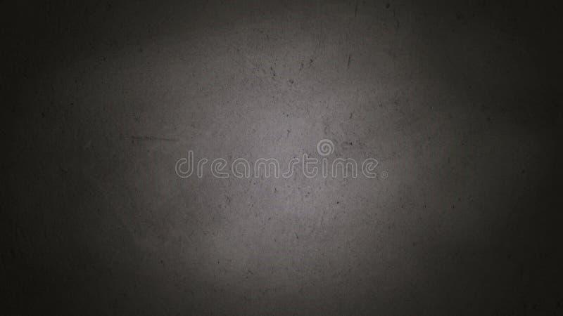 空白的前面真正的黑黑板背景纹理在学院 免版税库存图片