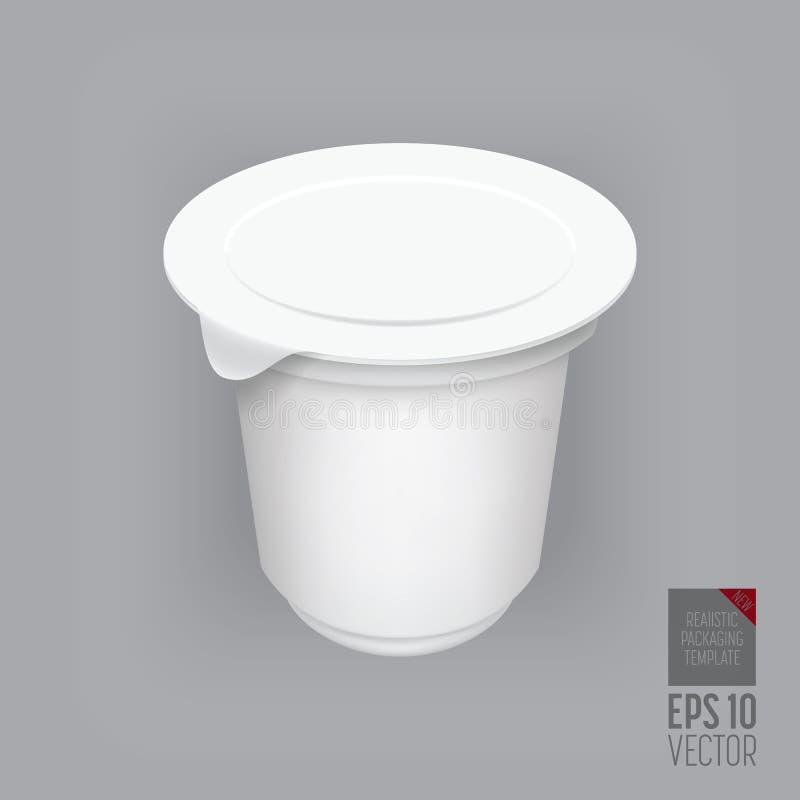 空白的包装的模板大模型 皇族释放例证