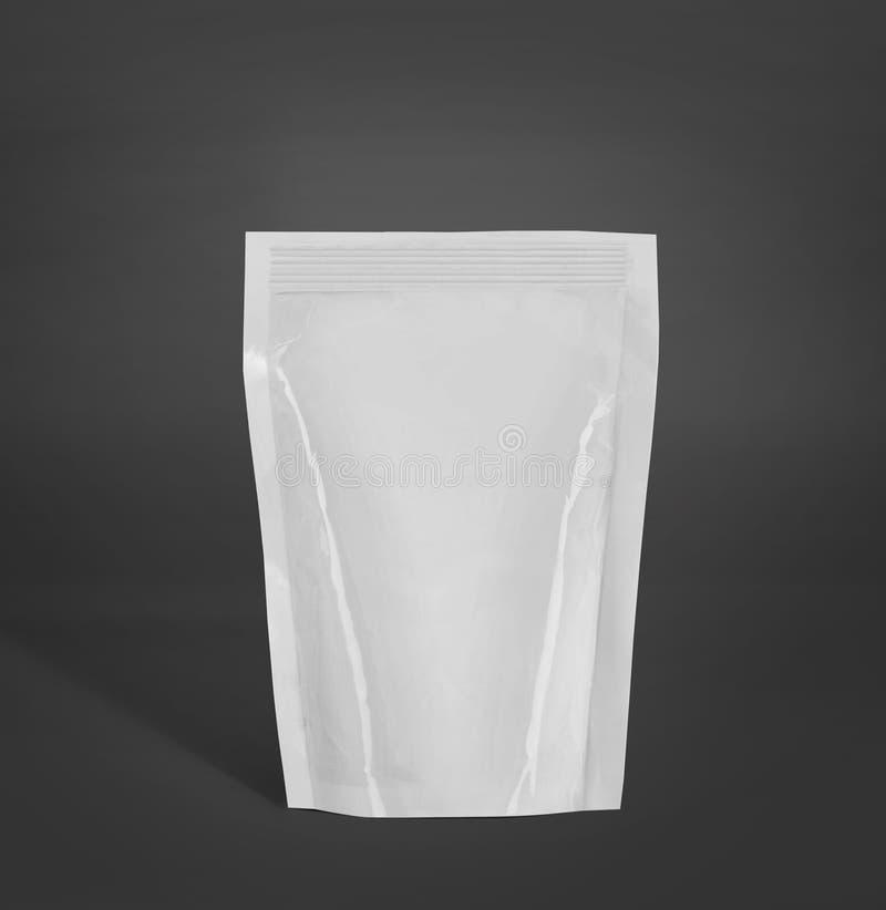 空白的塑料封装大模型 库存图片