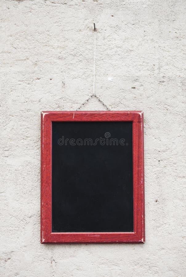 空白的学校黑板 图库摄影