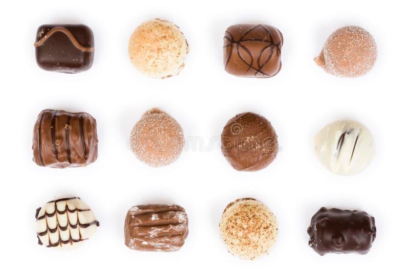 空白的巧克力 免版税图库摄影