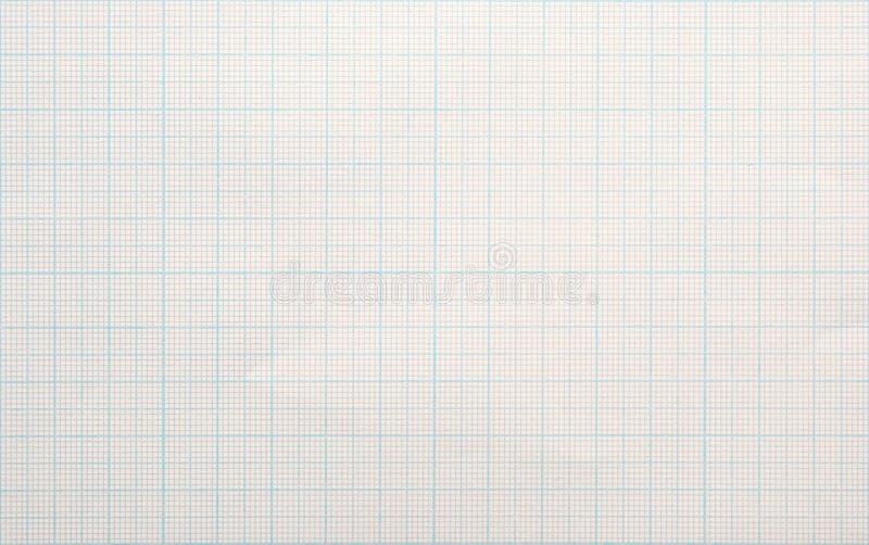 座标图纸背景 免版税图库摄影