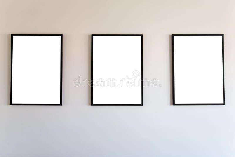 空白的框架嘲笑 库存图片