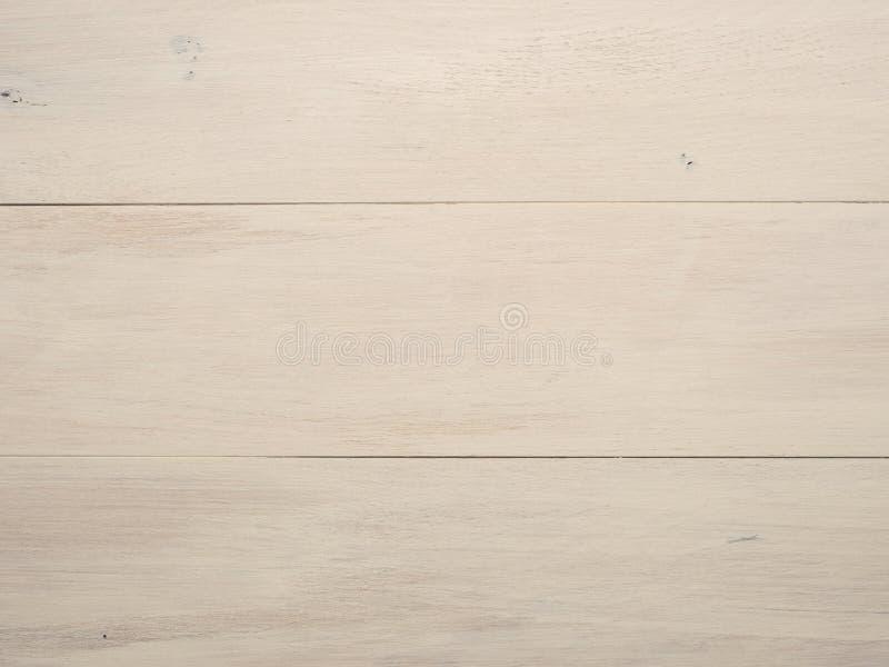 空白的橡木板条纹理 免版税库存照片