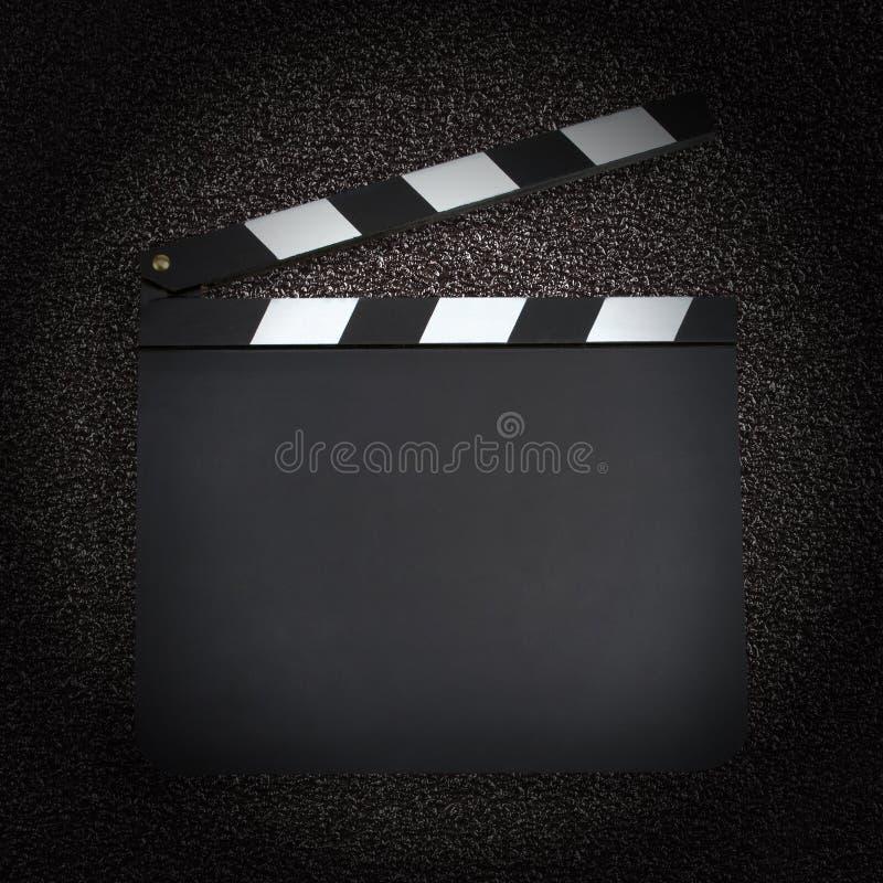 空白的生产拍板 免版税库存照片