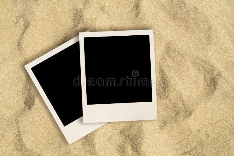 空白的立即图象 免版税库存图片