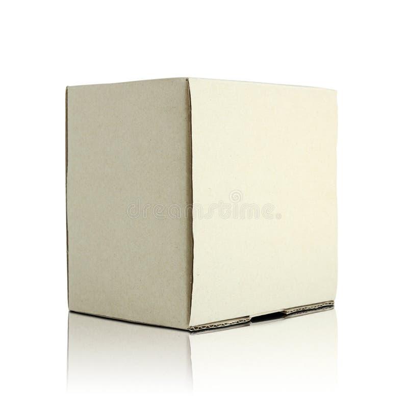 空白的纸板箱 库存图片
