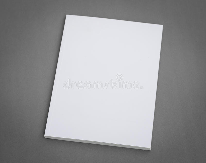 空白的编目,小册子,杂志 库存照片