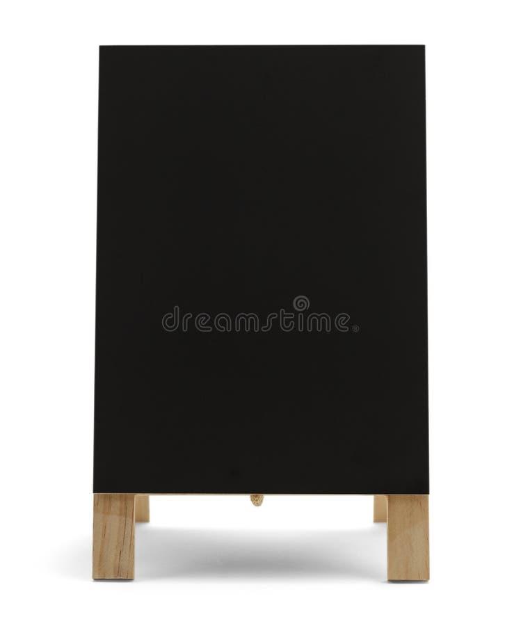 空白的菜单标志 图库摄影