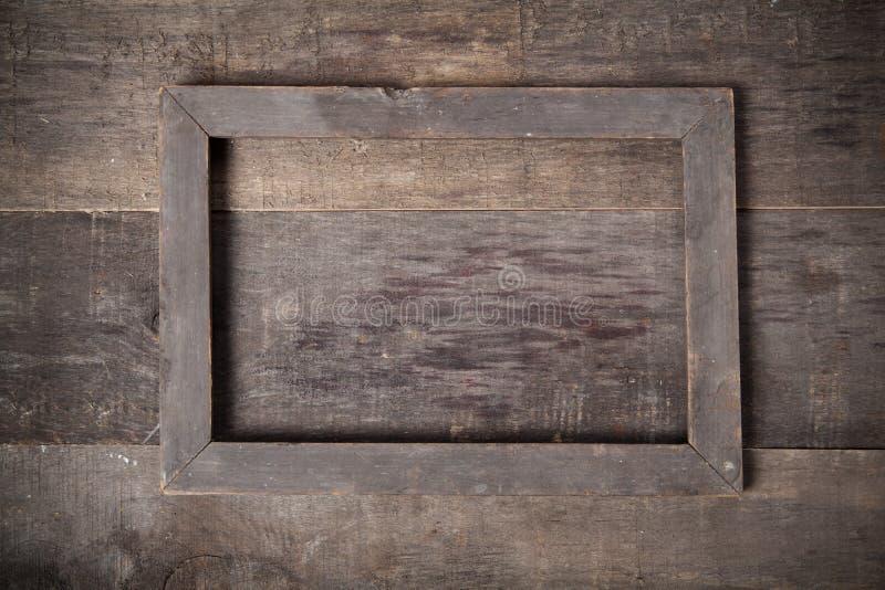 空白的葡萄酒框架 库存图片