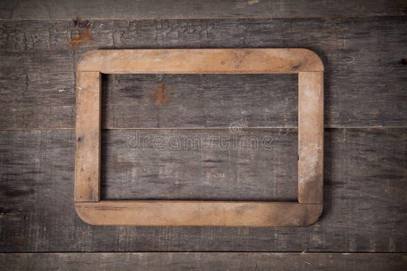 空白的葡萄酒框架 库存照片