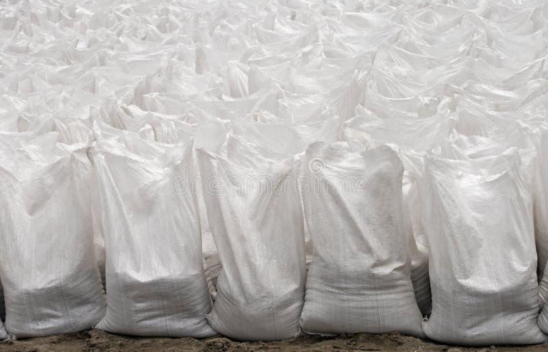 空白的袋子被设置 免版税库存图片