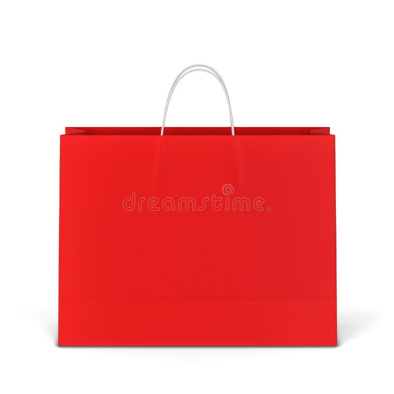 空白的购物袋大模型 库存照片