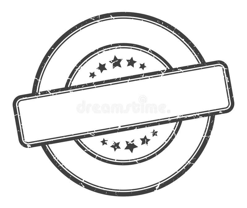 空白的邮票 皇族释放例证