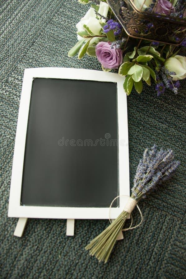空白的黑板 库存图片