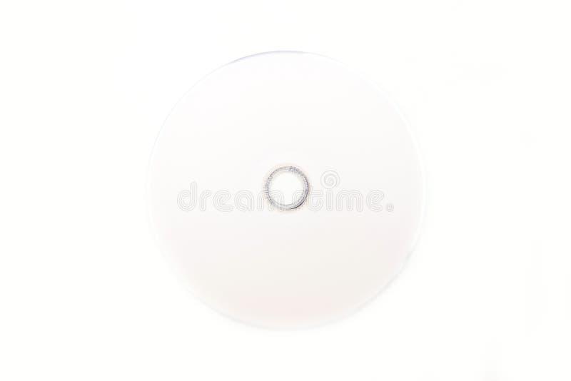 空白的DVD为写道 免版税库存图片