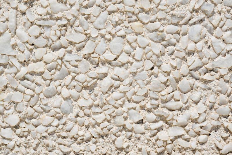 空白石墙 免版税库存照片