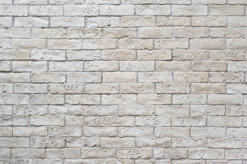 空白砖墙 免版税库存照片