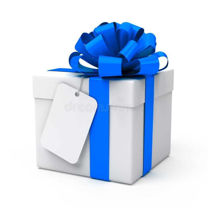 空白礼品标签 向量例证