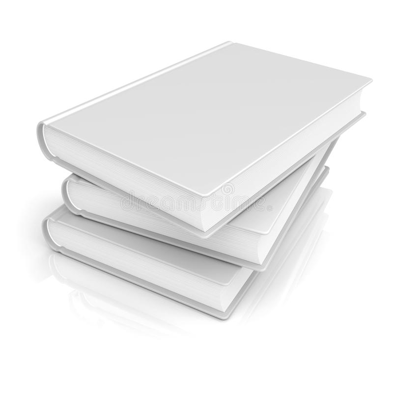 空白空白书 向量例证