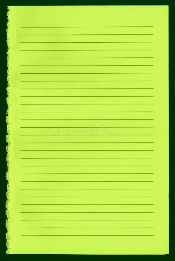 空白笔记本页 库存图片