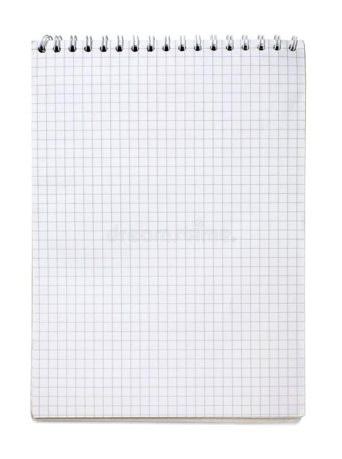 空白笔记本 免版税库存照片