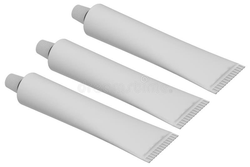 空白管 向量例证