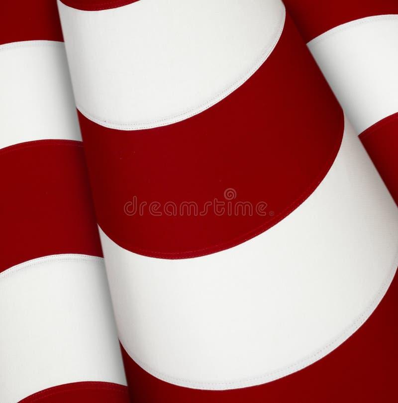 空白红色的数据条 库存照片
