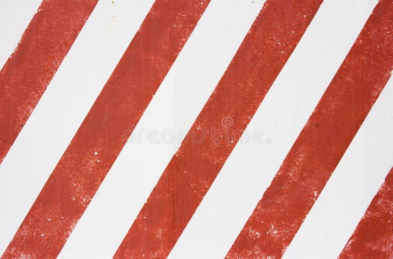 空白红色的数据条 免版税图库摄影