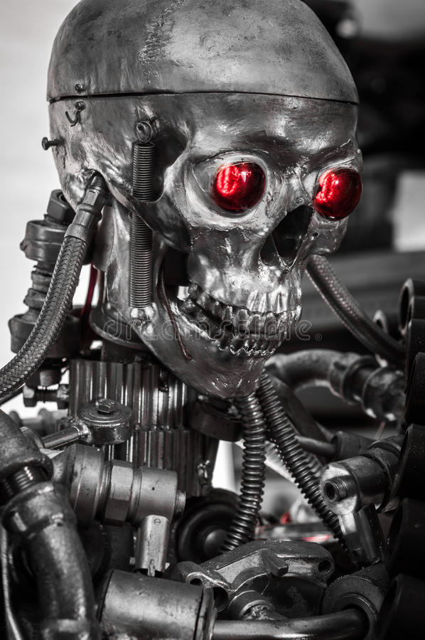 空白背景的兵器 免版税库存照片