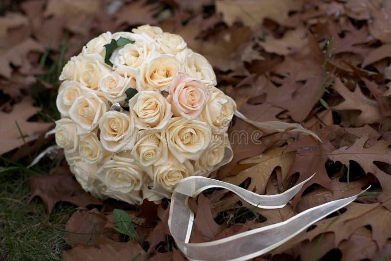 空白花束的玫瑰 免版税库存图片