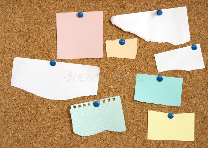 空白设计您空的纸的文本 免版税库存图片