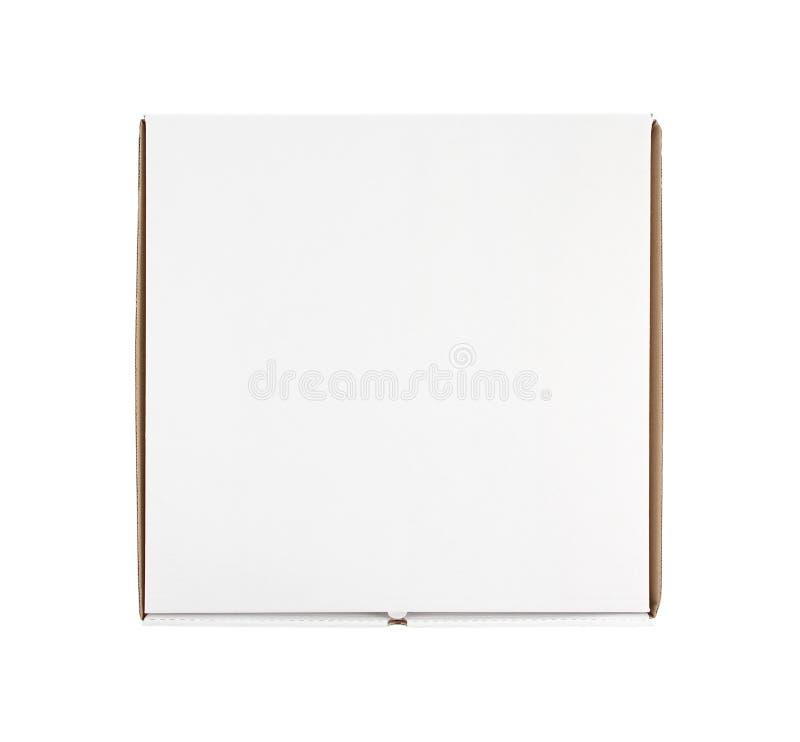 空白配件箱复制薄饼空间 库存照片