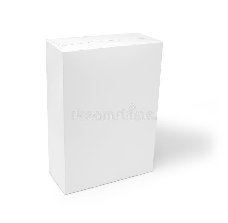 空白配件箱谷物产品 免版税库存照片