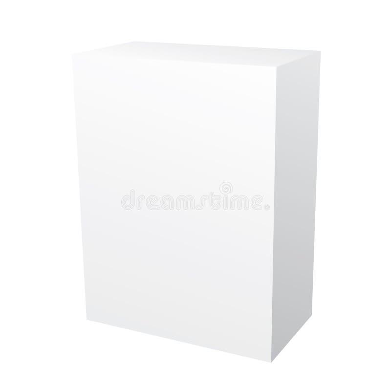 空白配件箱软件 库存例证