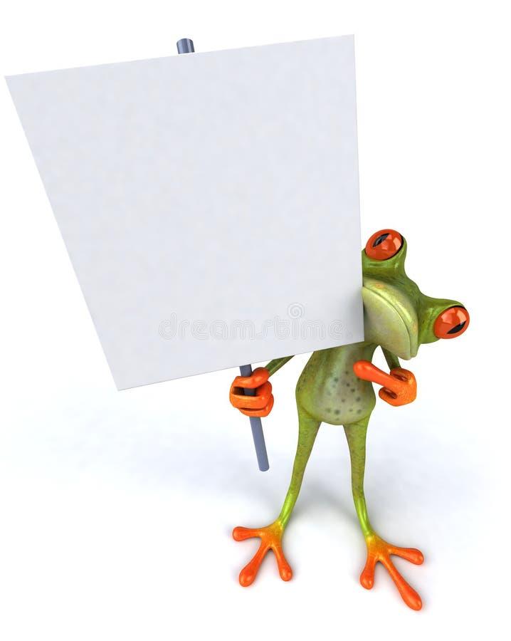 空白青蛙滑稽的符号