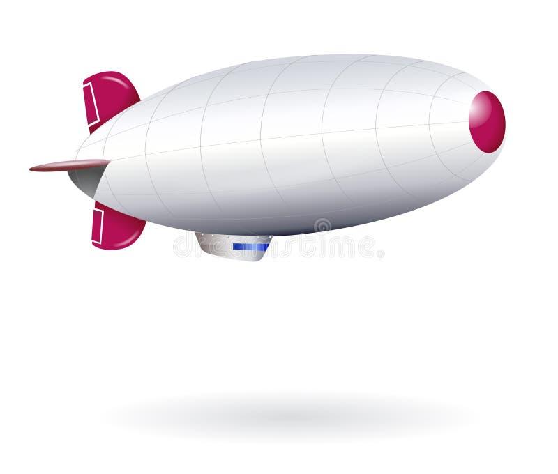空白飞船查出 库存例证