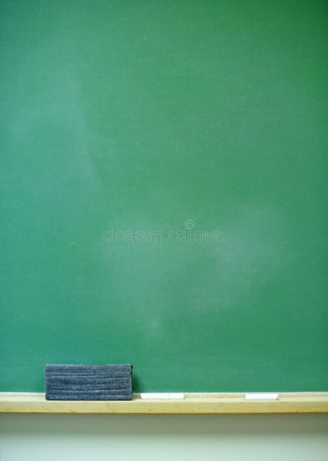 空白黑板垂直 库存例证