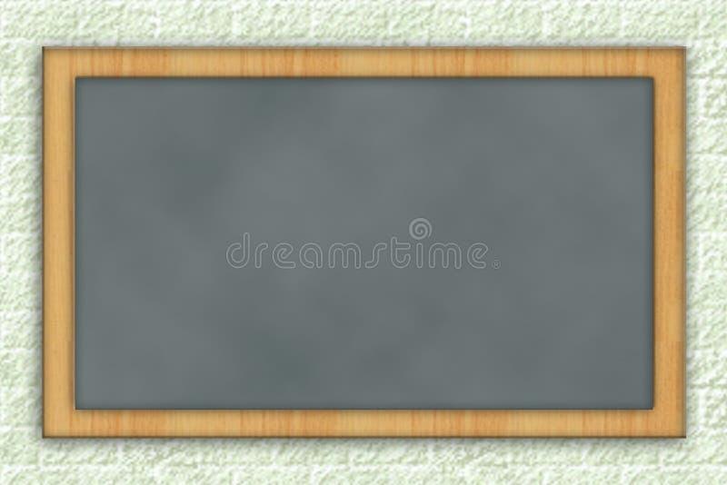 空白黑板 库存例证