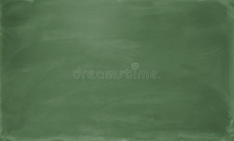 空白黑板绿色 背景和纹理 库存图片