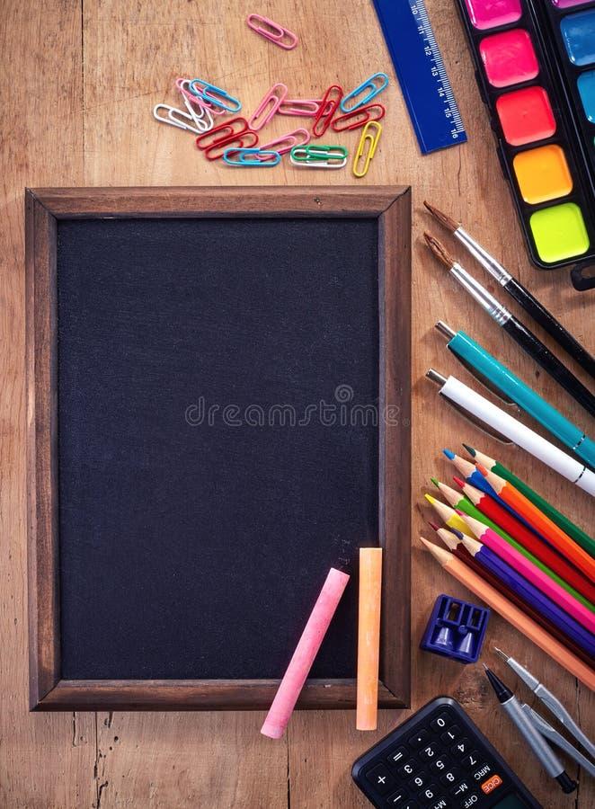 空白黑板 库存图片
