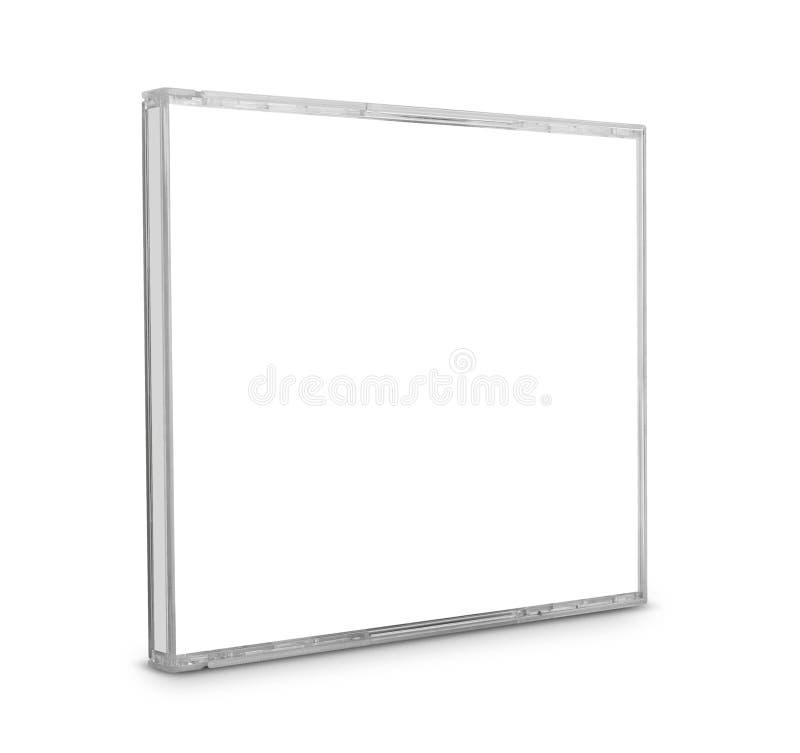 空白CD的盒 免版税库存照片