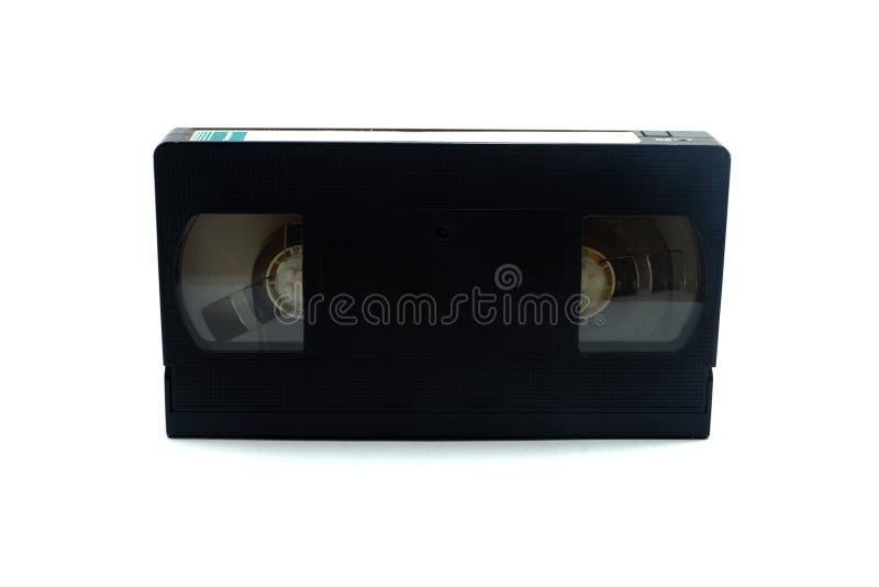 黑空白VDO磁带 库存照片